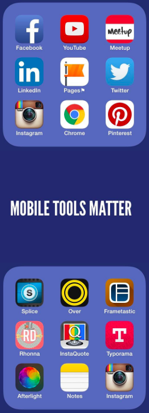 Mobile Tools matter