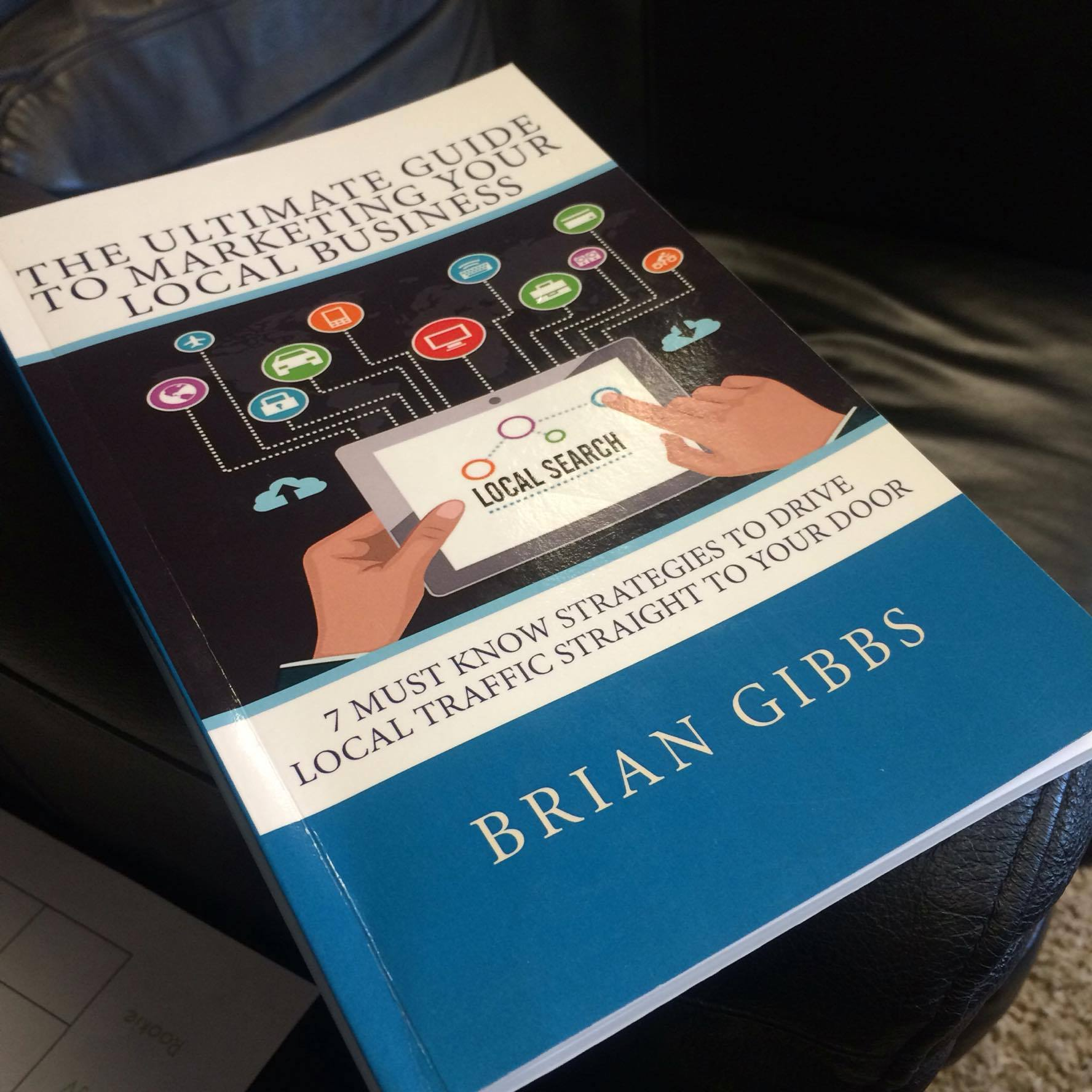 Brian gibbs book The ultimate guide to marketing a local business